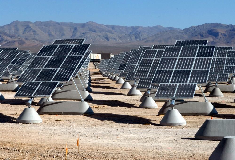 Nellis AFB Solar Panels