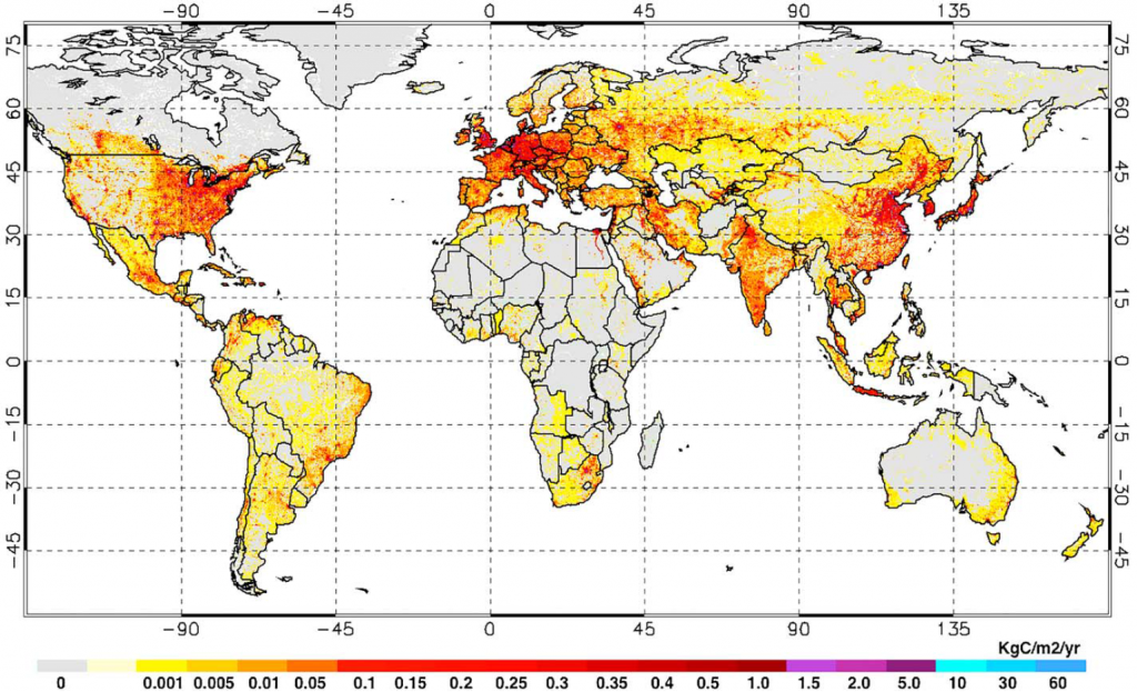 Global CO2 Map