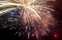 GoPro Fireworks via Quadcopter