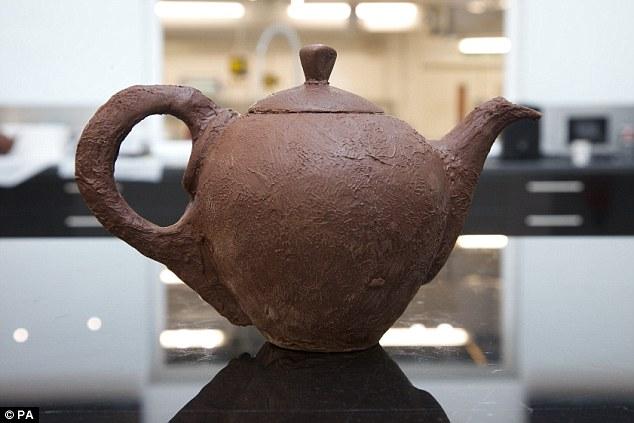 Nestlé's Chocolate Teapot Doesn't Melt