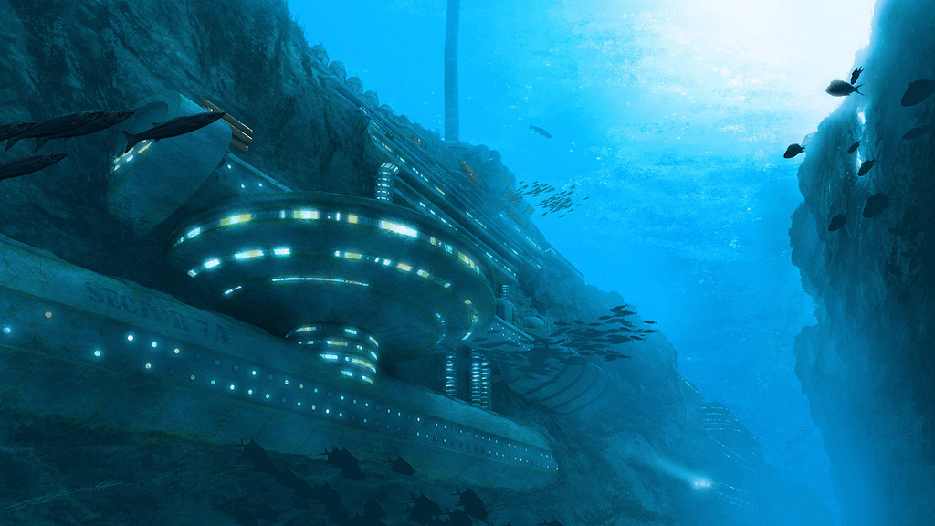 Underwater Military Bases
