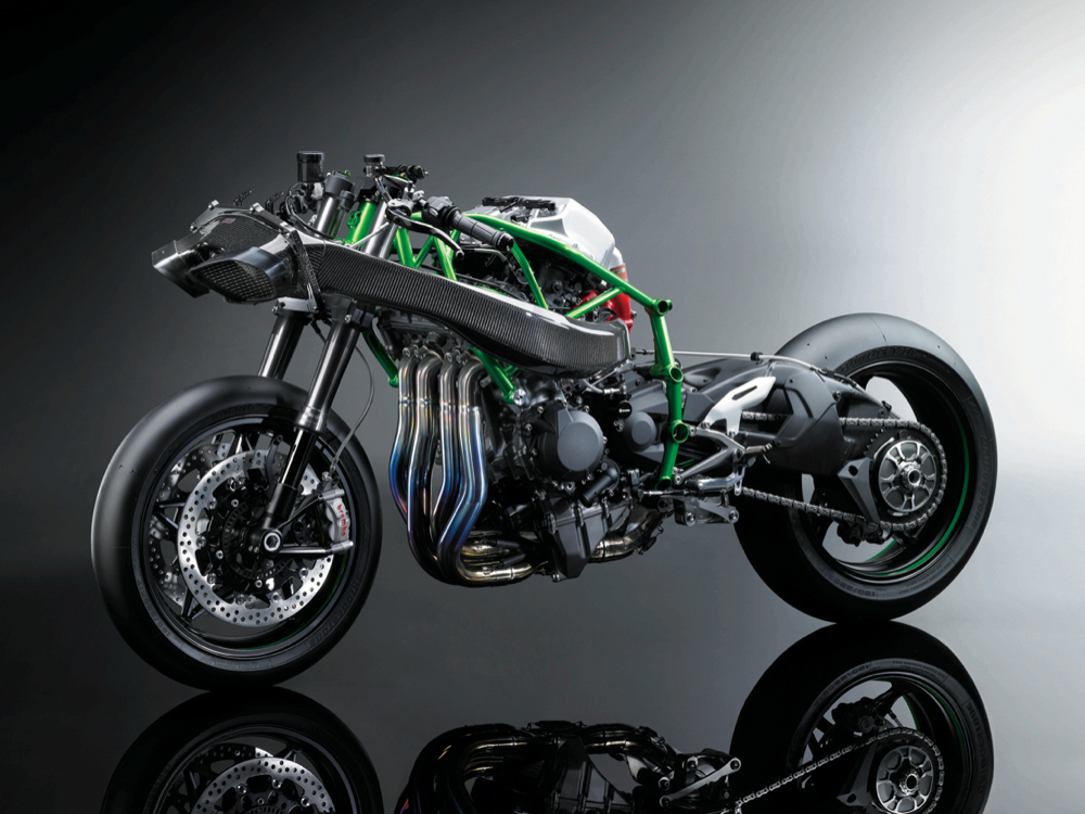 Kawasaki's Supercharged 300-Horsepower Superbike Is The
