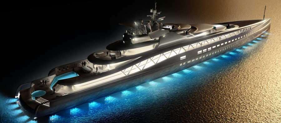 Superyachts With Private IMAX Theaters