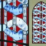 Artist Gets Creative with Recycled X-Rays as Stained-Glass Windows
