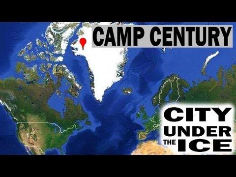 US Army's Top Secret Nuclear City, Camp Century, Hidden Under Greenland's Glaciers