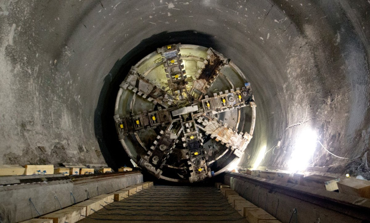 London S Massive Crossrail Network Is 60 Done Take A Look At The Tunneling Progress