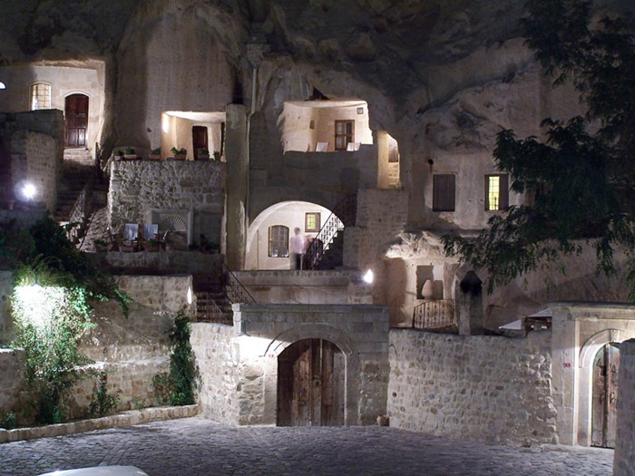 Turkey's 5-Star Yunak Evleri Hotel Is Built Into Ancient Turkish Caves