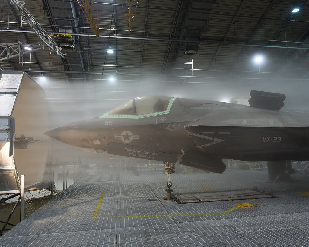Michael D. Jackson/F-35 Integrated Test Force