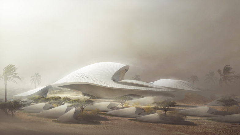 Zaha Hadid to Design New Bee'ah HQ