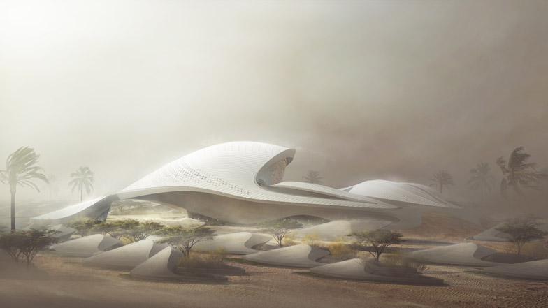 Zaha Hadid to Design New Bee'ah HQ
