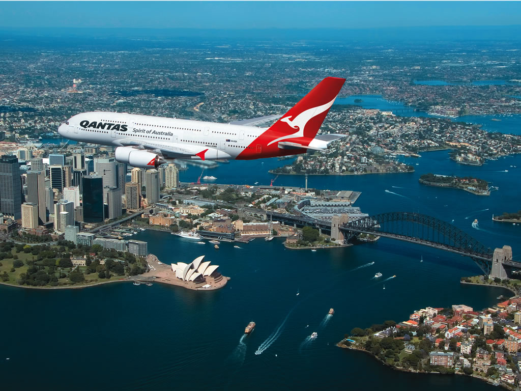 After Tragic Mysterious Year In Aviation Qantas Named