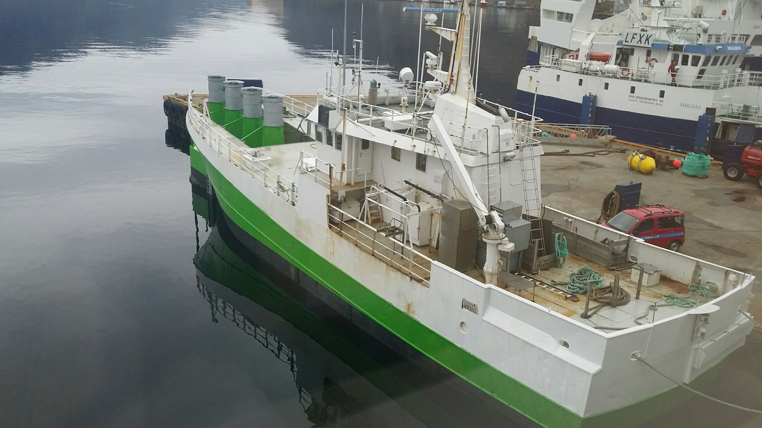 This Redundant Fishing Trawler is Now a Wave Power Plant