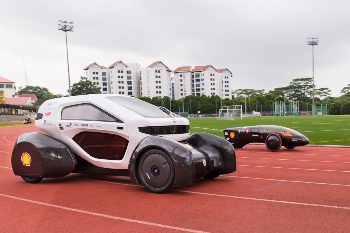 Singapore's 3D-Printed Concept Car Could Be the Car of the Future