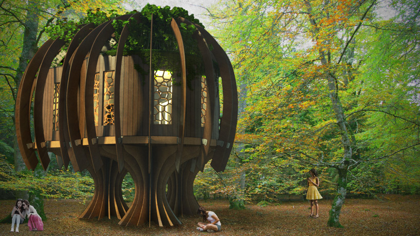 'Quiet Treehouse' Provides Relief for Children's Hospice in Sussex, England