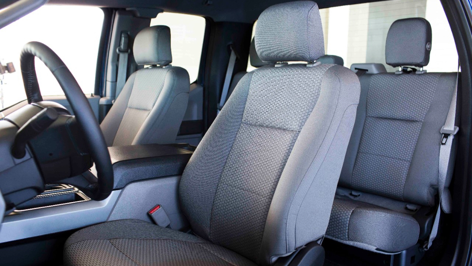 The Cloth Seats in New Ford F-150's Are Made From Recycled ...