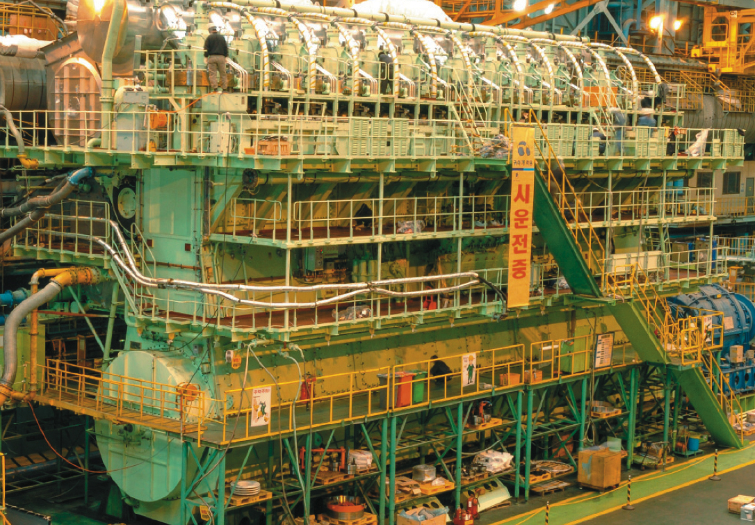 World's Most Powerful Marine Diesel Engine Puts Out Nearly 109,000 HP!