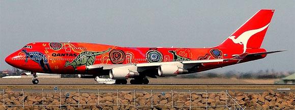 Qantas Aboriginal Art