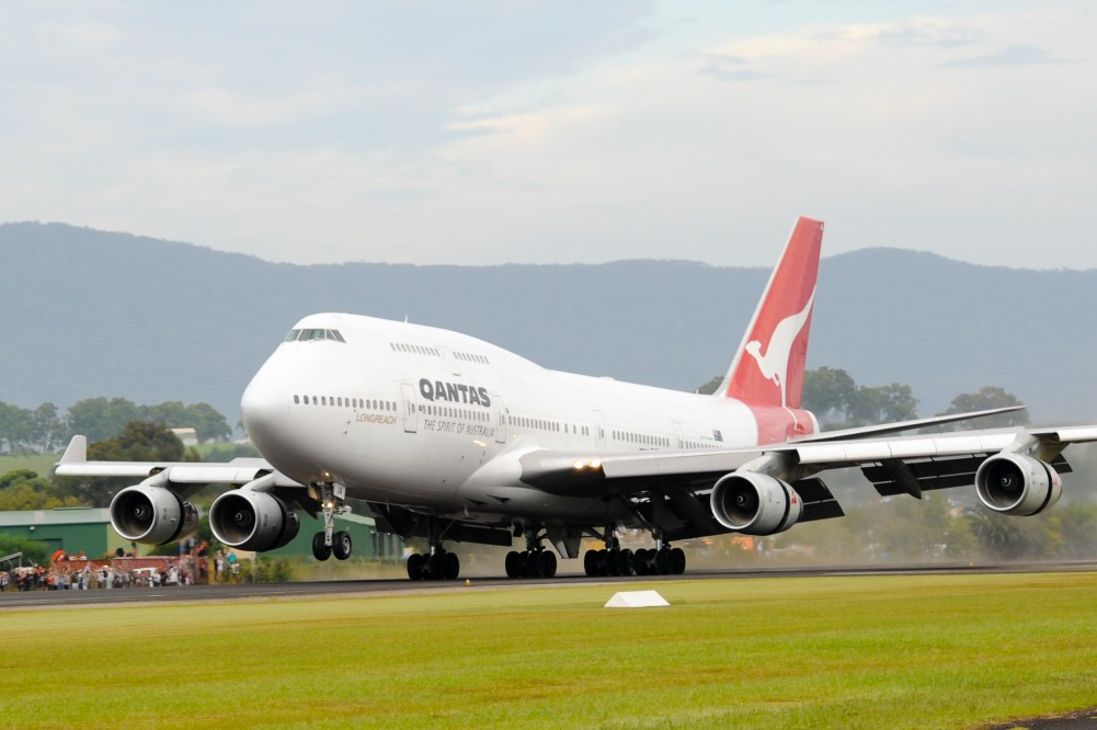 Qantas 747-400 retired