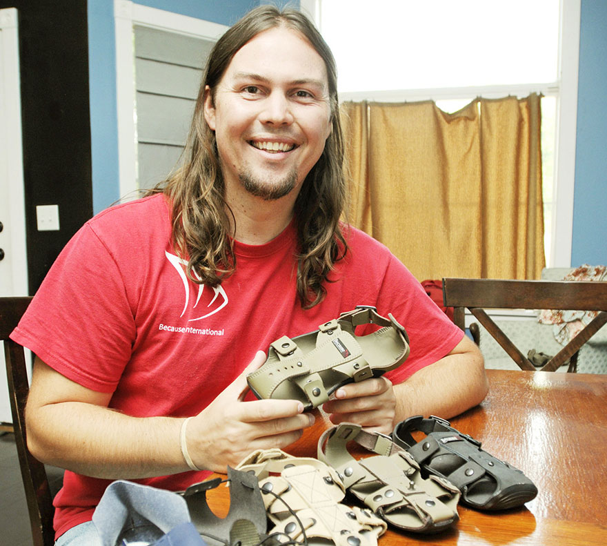 Children's Feet Grow Incredibly Quickly, so 'Because International' Made a Shoe That Can Keep Pace