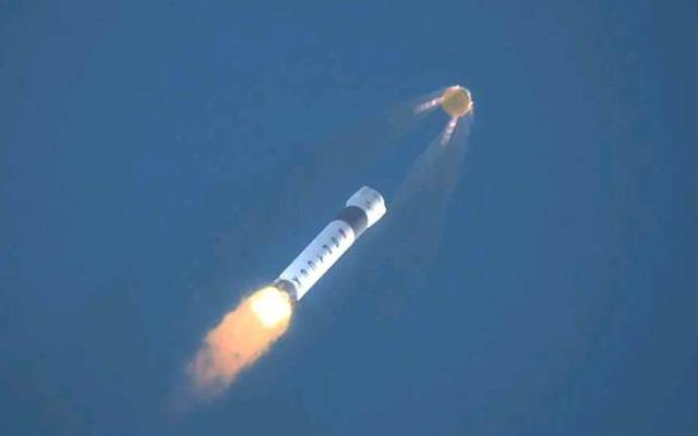 Launch Escape System Test