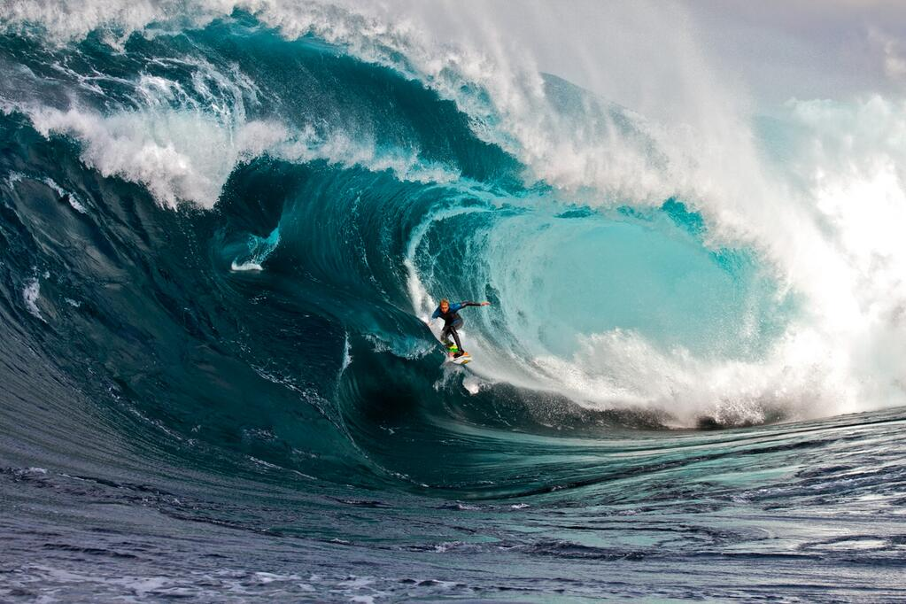 Mark Mathews Big Wave Surfing