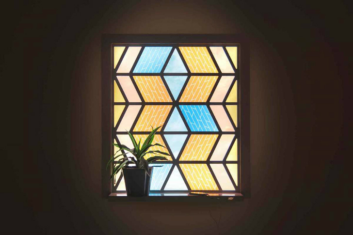 This Gorgeous Stained Glass Window is a Solar Panel!