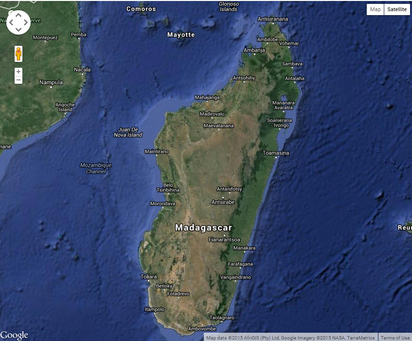 Virtual tour of madagascar worlds oldest island via google earth major effort required to map madagascar gumiabroncs Choice Image