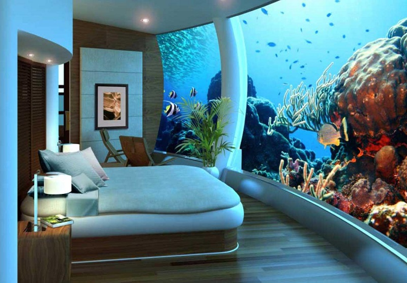 Sleep with the Fishes in the World's Best Underwater Hotels