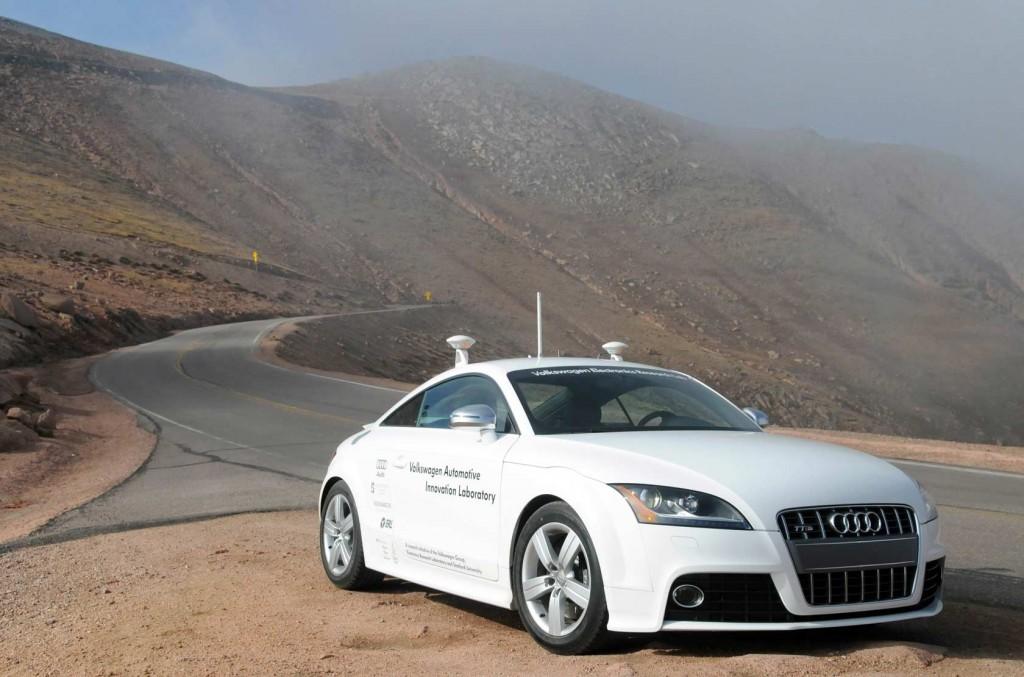 Autonomous Audi Pikes Peak
