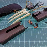 How to Build Your Own Set of Wolverine Claws, Capable of Extending and Retracting as You Flex