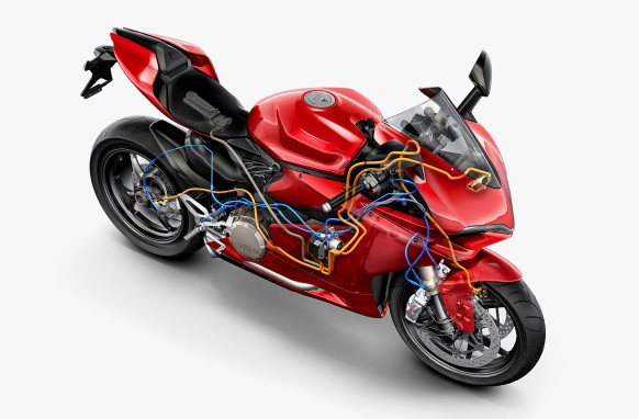 Safer Motorcyles: Advanced Ducati Stability System can Prevent Skidding