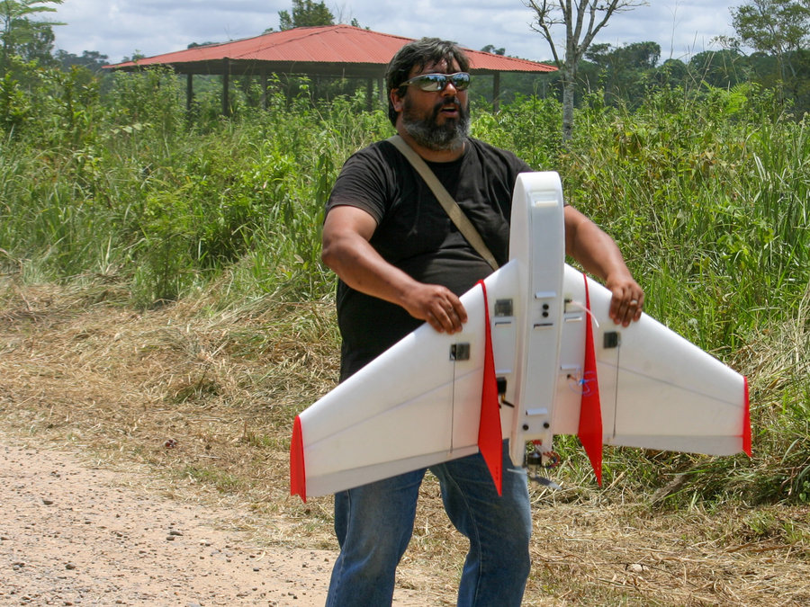 Eye in the Sky to Keep Watch on the Amazon Rainforest Trees