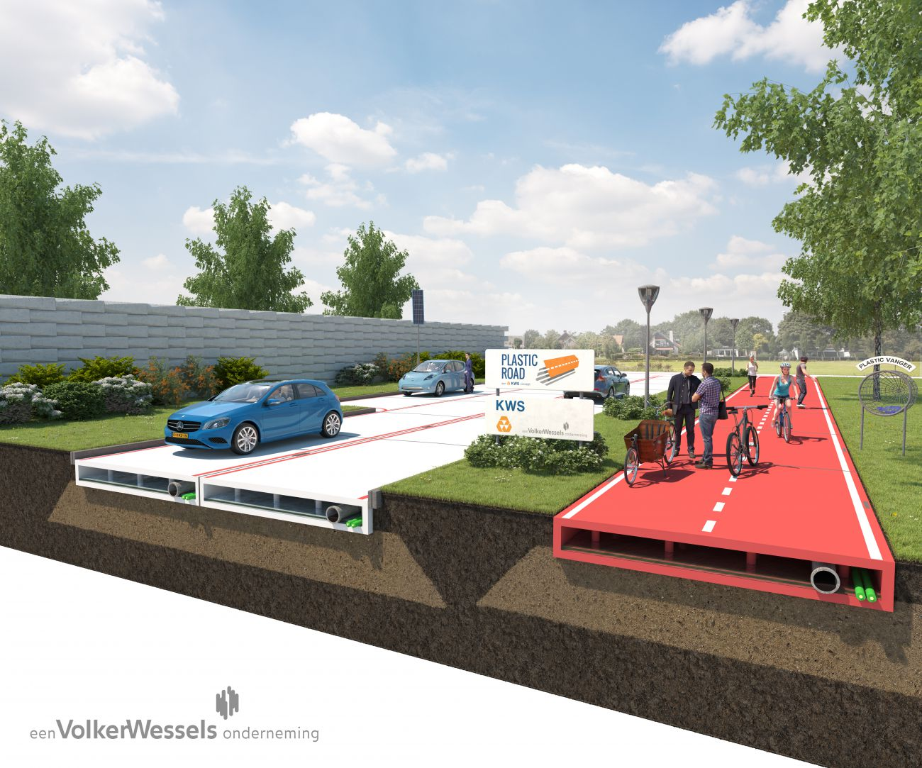 Netherlands to Try Recycled Plastic Roads; More Durable, Climate Friendly Than Asphalt