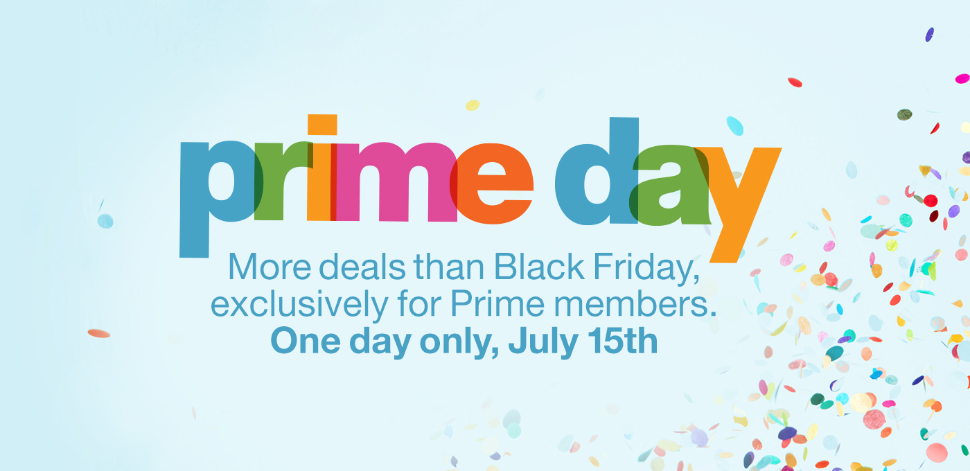 Amazon Prime Day on July 15 Will Offer More Deals Than Black Friday!