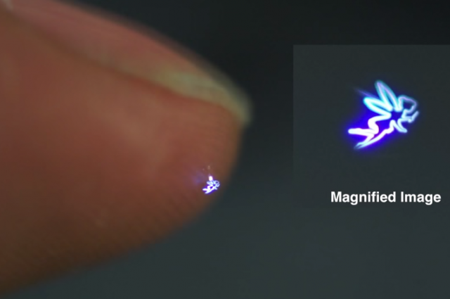 Three-Dimensional Interactive Holograms are Now a Reality