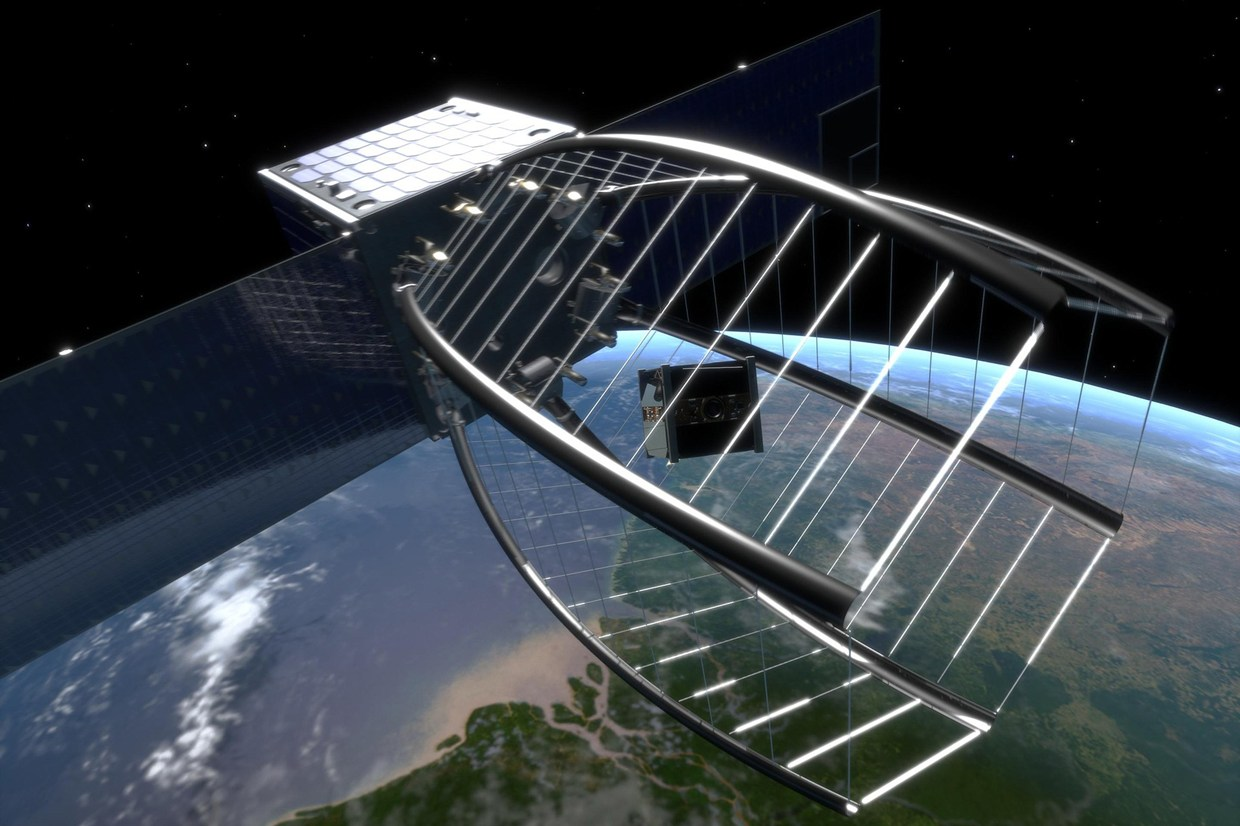 'Space Pac-Man' to Gobble Up Space Debris