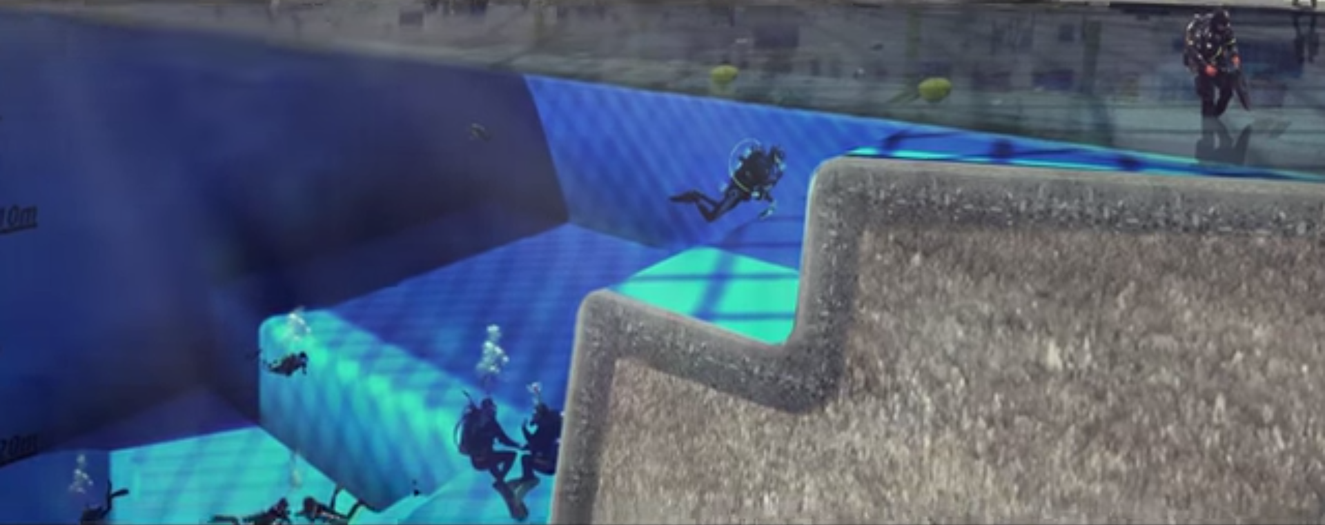 At 164 Feet World 39 S Deepest Pool Could Prove To Be A Vital Asset For Astronauts Industry Tap