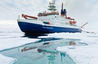 Polarstern in der Arktis / Polarstern in the Arctic