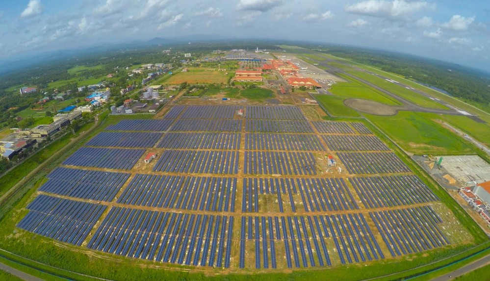 Cochin International Airport Solar Panels