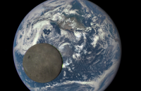 NASA Moon Earth Photo
