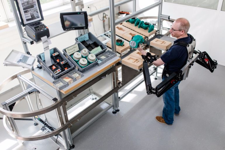 Robo-Mate Plans to Turn Factory Workers Into SUPERHEROES