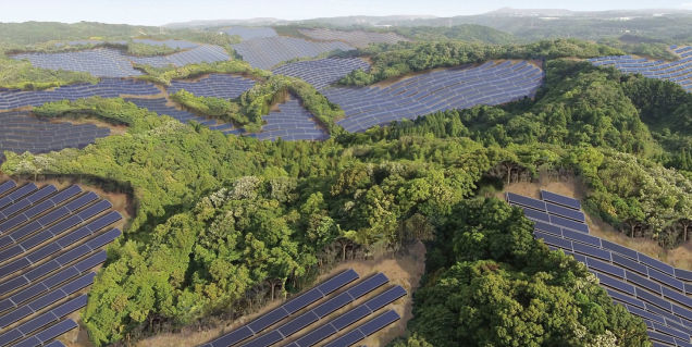 Japan Transforming Abandoned Golf Courses into Solar Power Plants