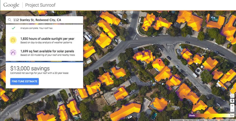 Google's Project Sunroof Determines if Solar is a Good Fit for Your Home and Budget