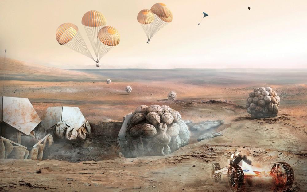 Mars-Habitat