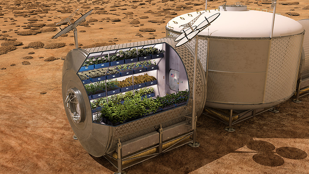 NASA-astronauts-eat-Fresh-Food-grown-on-International-Space-Station