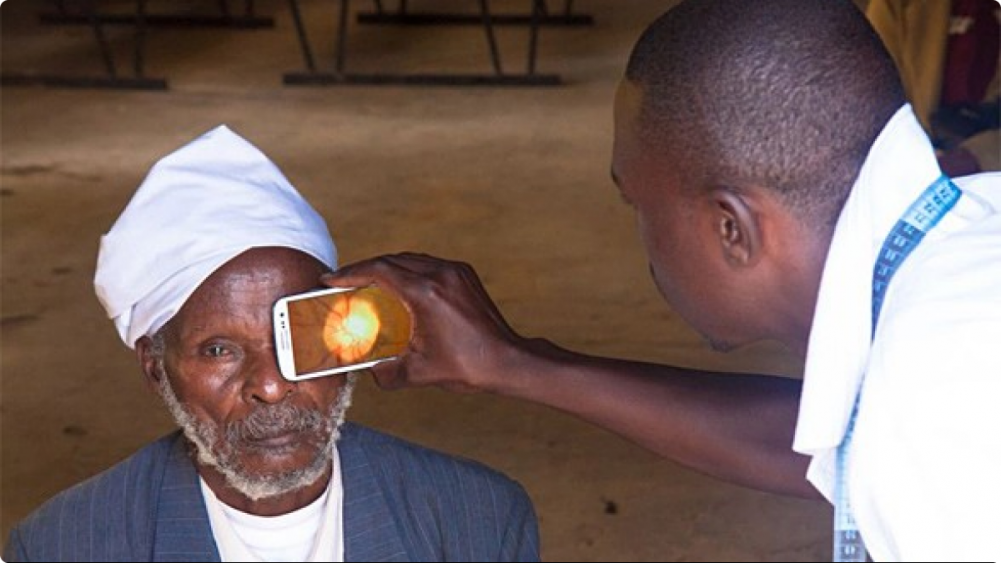 Peek-Retina Eye Exam in Kenya
