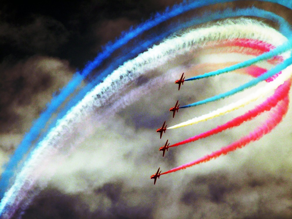 World Quality Report The_Red_Arrows_at_Festival_of_Speed,_Goodwood