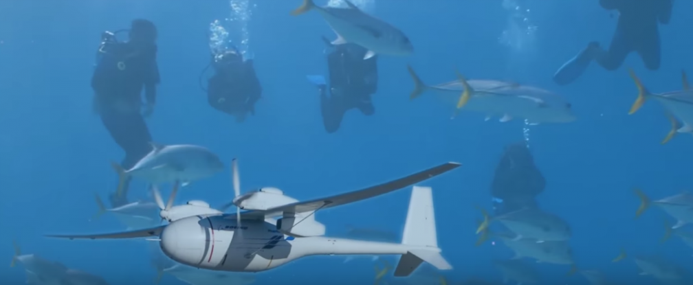 Boeing Patents an Amphibious Drone