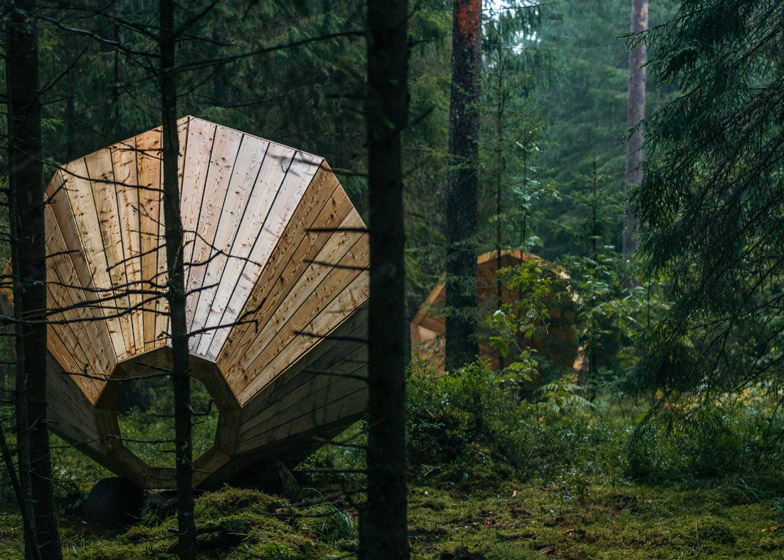 These Giant Wooden Megaphones Will Let You Hear the Subtle Sounds of Nature