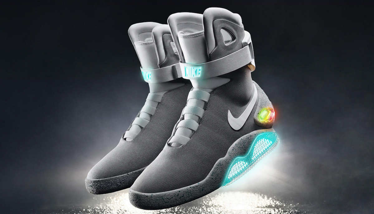 The Self-Lacing Sneakers Predicted by Science-Fiction are Reality